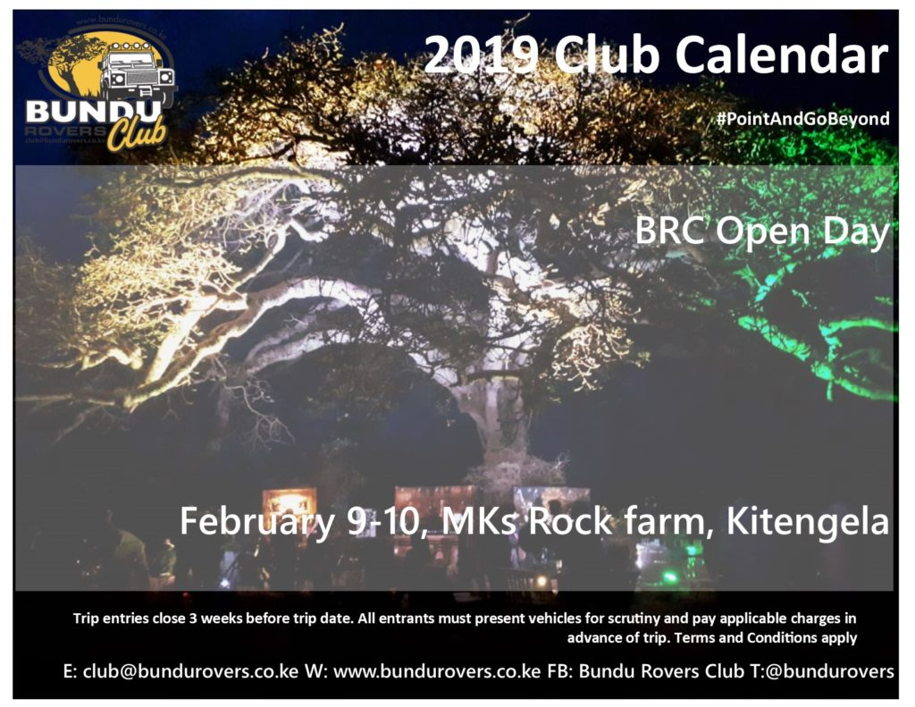 BRC 2019 February Open Day