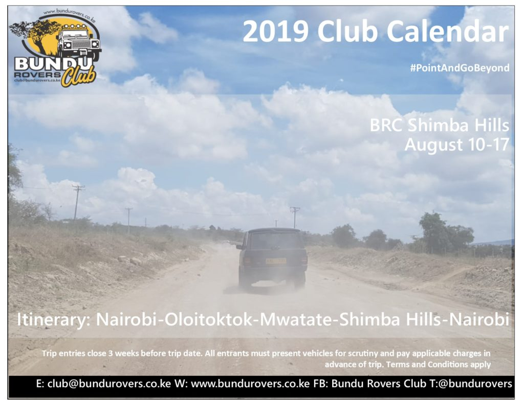 BRC 2019 August Shimba Hills